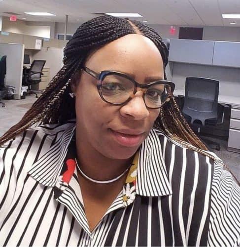 FATIA Cornrow Braided Wig (Deep Part) photo review